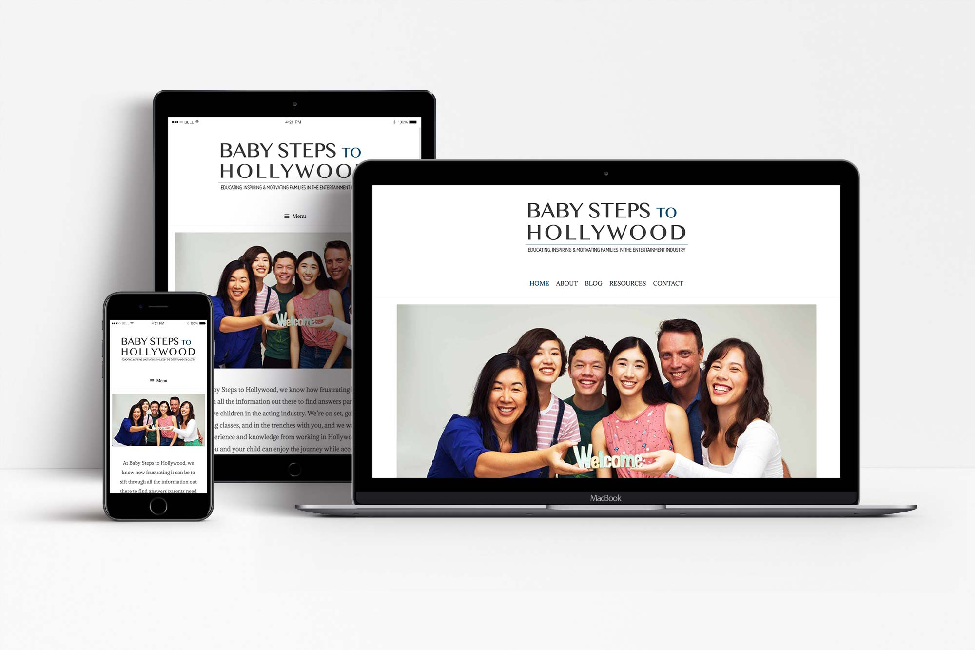 Baby Steps To Hollywood Responsive Display